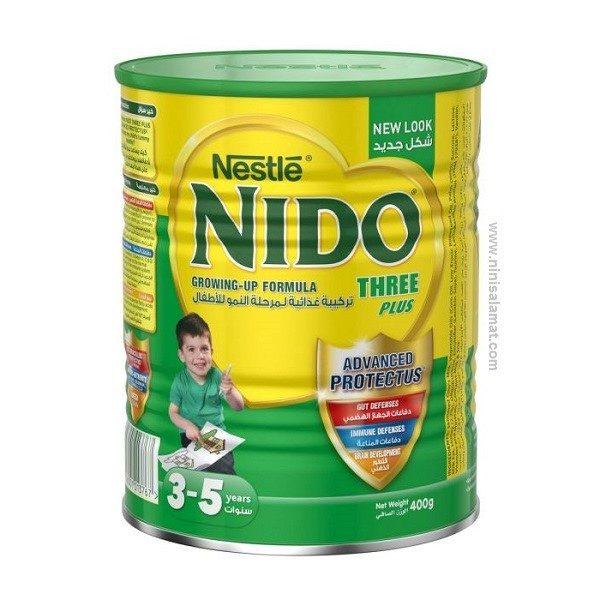 شیر خشک نیدو عسلی ۴۰۰ گرمی سبز