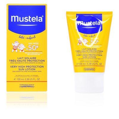 لوسیون ضد آفتاب 100 میل موستلا با قدرت پوشانندگی بسیار بالا