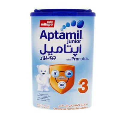 شیر خشک آپتامیل جونیور شماره ۳ هلندی ۹۰۰ گرم